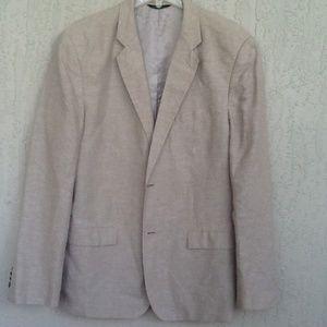 BANANA REPUBLIC Linen/Cotton Tailored Slim Fit